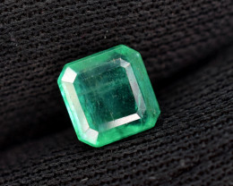 1.25 carats Natural color Emerald gemstone