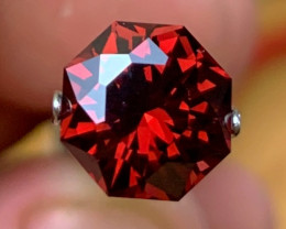 3.35 cts Precision Cut by Me - Malaya Garnet - Flawless
