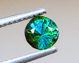 Unheated VIVID Bicolor Blue-Green Tourmaline  (Paprok Mine, Afghanistan)