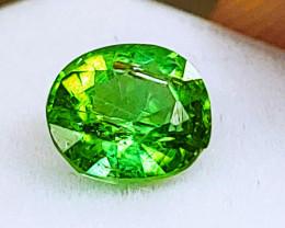 0.94 CT Unheated Neon Green Tourmaline  (Paprok Mine, Afghanistan)