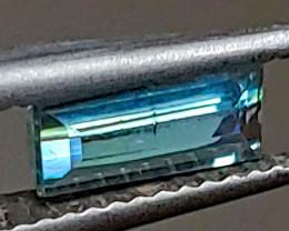 0.66 CT Unheated Neon Blue Tourmaline  (Paprok Mine, Afghanistan)