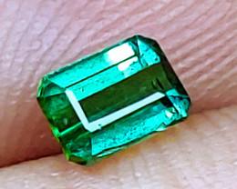 Unheated Bluish Green Tourmaline  (Paprok Mine, Afghanistan)