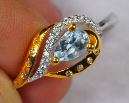 10.83cts 925 Sterling Silver Ring /ZA65