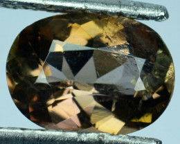 ~RARE~ 2.80 Cts Natural Color Change Axinite Oval Cut Pakistan