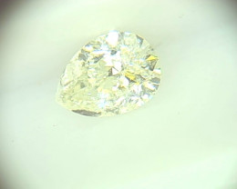0.31ct Faint bluish Green  Diamond , 100% Natural Untreated