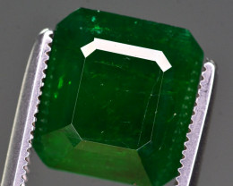 Certified 4.23 Ct Top Quality Natural Swat Emerald