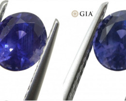 1.22ct Color Change Sapphire Oval GIA Certified Unheated, Sri Lanka, Vivid