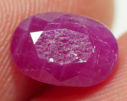 2.65 CRT BEAUTY DARK PINKY MADAGASCAR RUBY-