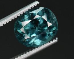 1.80 carats Natural indicolite Tourmaline gemstone