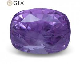 1.95 ct Pink Sapphire Cushion GIA Certified Unheated, Sri Lanka