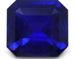 1.14 ct Blue Sapphire Octagonal GIA Certified Unheated, Sri Lanka