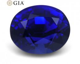 1.29 ct Blue Sapphire Oval GIA Certified Unheated, Sri Lanka