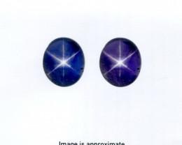 8.07 ct Color Change Star Sapphire Oval GIA Certified Unheated, Sri Lanka