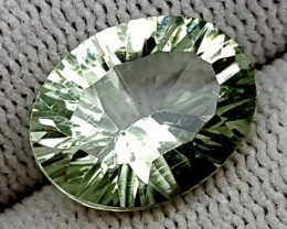 6.35CT GREEN PRASOLITE  BEST QUALITY GEMSTONE IGC56