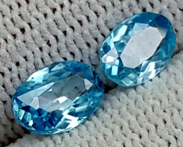 2.35CT BLUE ZIRCON  BEST QUALITY GEMSTONE IGC56