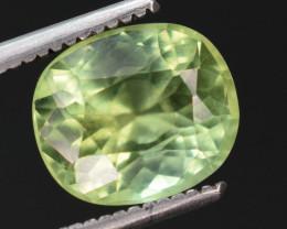 2  carats Natural yellow color Tourmaline gemstone