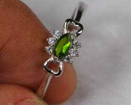 10.27cts 925 Sterling Silver Ring /ZA71