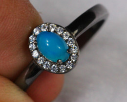 12.42cts 925 Sterling Silver Ring /ZA80