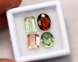 8.40Ct Natural Multi Color Tourmaline Lot  B1210