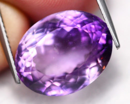 16.19Ct Natural VVS Bolivian Purple Amethyst  B1215