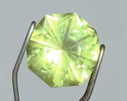 Precision Cut by Me - 1.44 cts Mali Garnet - Neon Yellow - Color Shifting