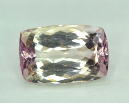 NR 23.40 cts Natural Peach Pink Kunzite