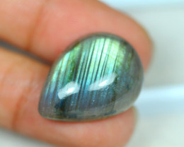 24.41ct Natural Labradorite Cabochon Nice Flash Light Lot LZ6518
