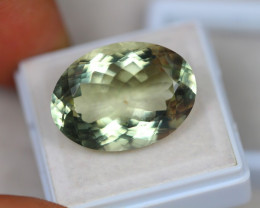 18.39Ct Green Amethyst Oval Cut Lot LZ1818