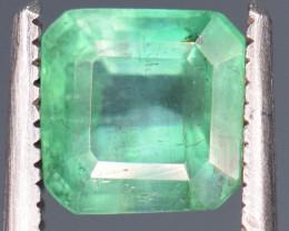 1.20 carats Natural green color Emerald gemstone