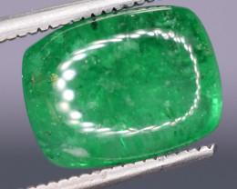 3.15 Carats  Natural Emerald Cabochons