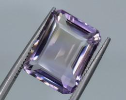 9.93 Crt Natural Ametrine Faceted Gemstone.( AG 2)