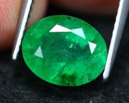 2.63Ct Natural Vivid Green Zambian Emerald A1308