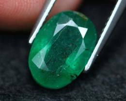3.34Ct Natural Vivid Green Zambian Emerald A1310