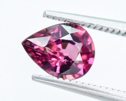 1.25 Crt Rhodolite Garnet Faceted Gemstone (R18)