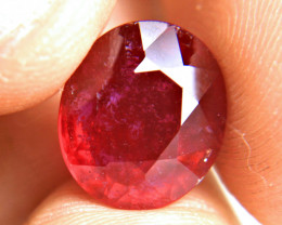 8.79 Carat Fiery Ruby - Gorgeous