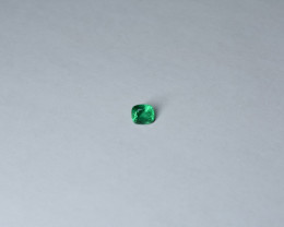 1.30 carat Clean Emerald from Panjshir Valley (Afghanistan)