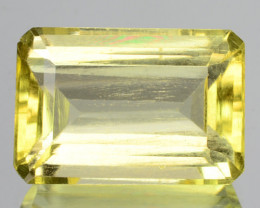 2.67 Cts Natural Mint Yellow Scapolite Octagon Cut Congo - Africa