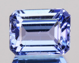 ~AMAZING~ 1.00 Cts Natural Purplish Blue Tanzanite Octagon Cut Tanzania