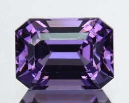 ~GORGEOUS~ 1.32 Cts Natural Purple Spinel Octagon Cut Sri Lanka