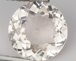 ~LOVELY~ 1.65 Cts Natural Light Peach Morganite Round Cut Brazil