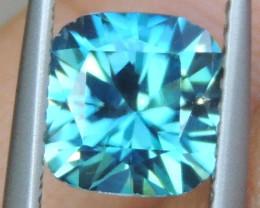 1.83cts, Blue Zircon,  Top Cut