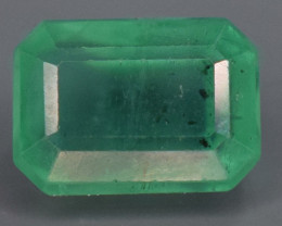 1.20 carats Natural green  color Emerald gemstone
