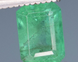 1.10 carats Natura green  color Emerald gemstone