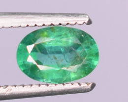 0.40 carat  Natural green color Emerald gemstone