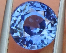 1.89cts No Heat, Certified  Sapphire, Top Cut