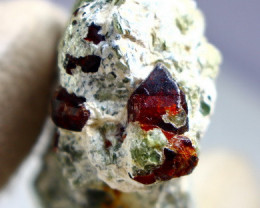 225.30  CT Natural - Unheated Brown Chondrodite Specimen