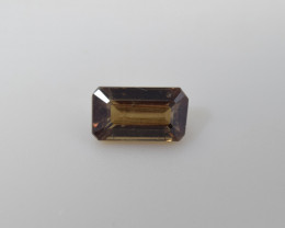 Natural Color Changing Garnet 1.23 Cts Faceted Gemstone
