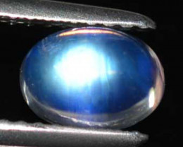 Marvelous Untreated Royal Blue Moonstone Oval Cab 7 X 5 mm