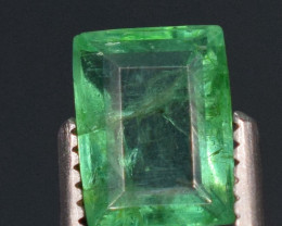 1carats Natural green color Emerald gemstone