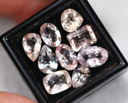 10.46Ct Natural Morganite Mixed Size Lot  B1415